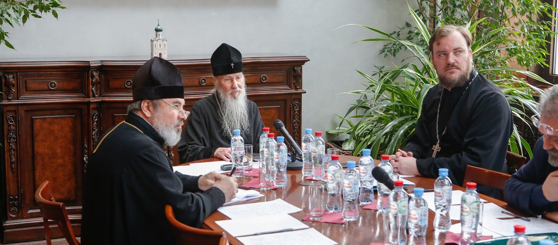 Преподаватели Академии приняли участие в заседании комиссии по церковному праву Межсоборного присутствия