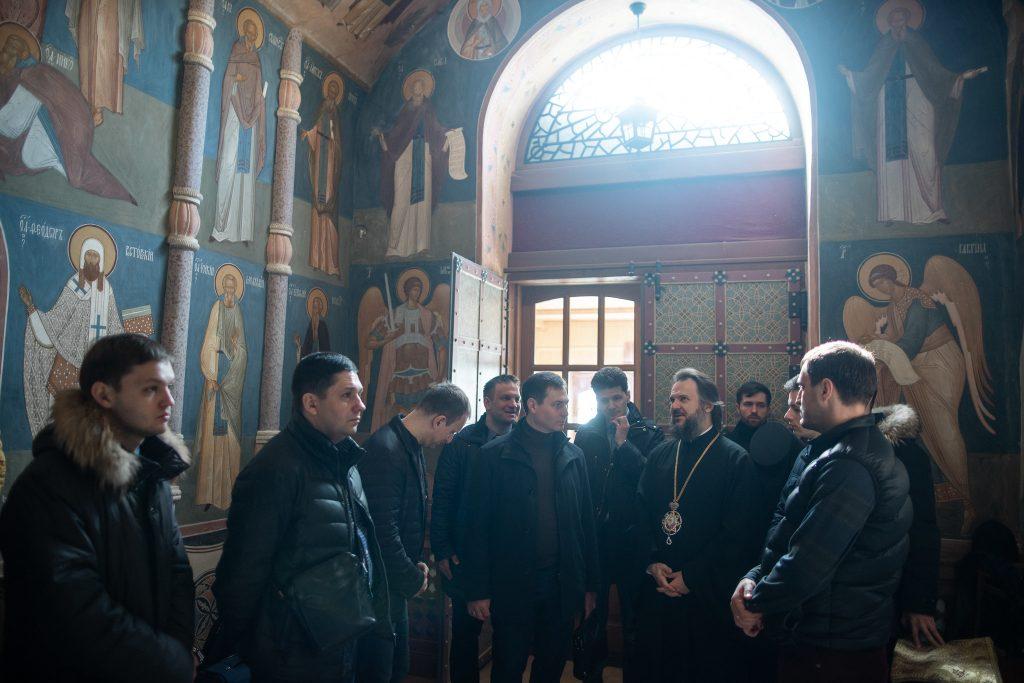 На Благовещение архиепископ Амвросий встретился с православными предпринимателями