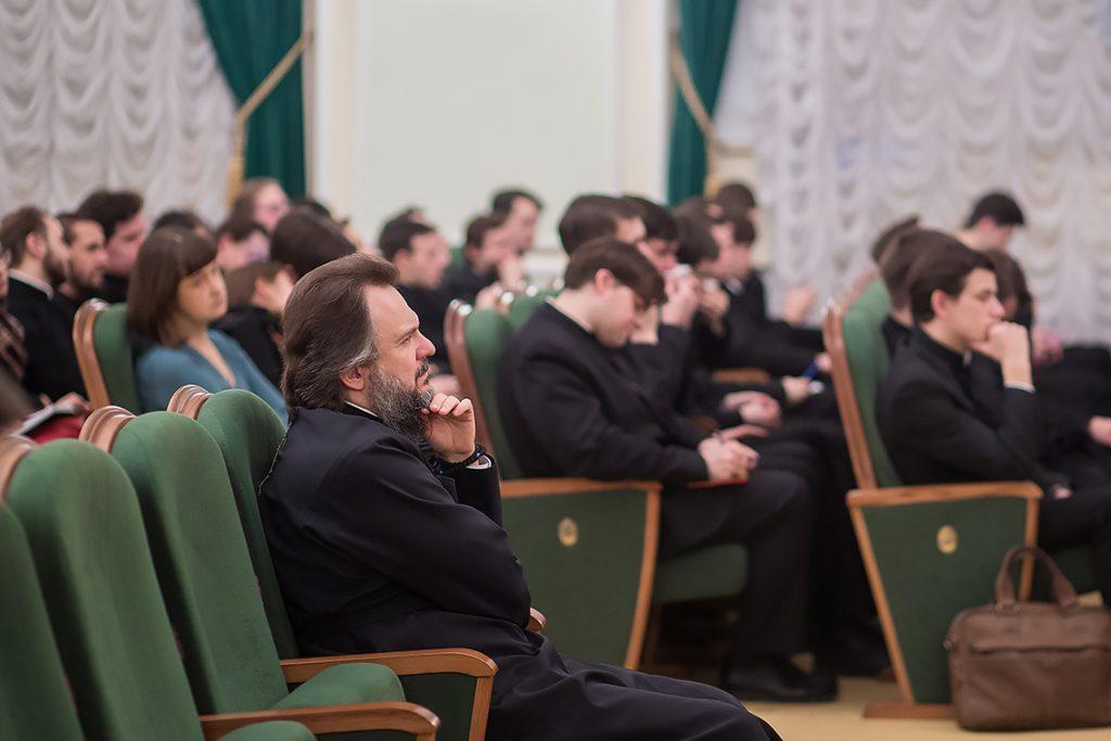 В Академии прошла лекция С.А. Шиманского на тему «Люди и их семейные отношения»