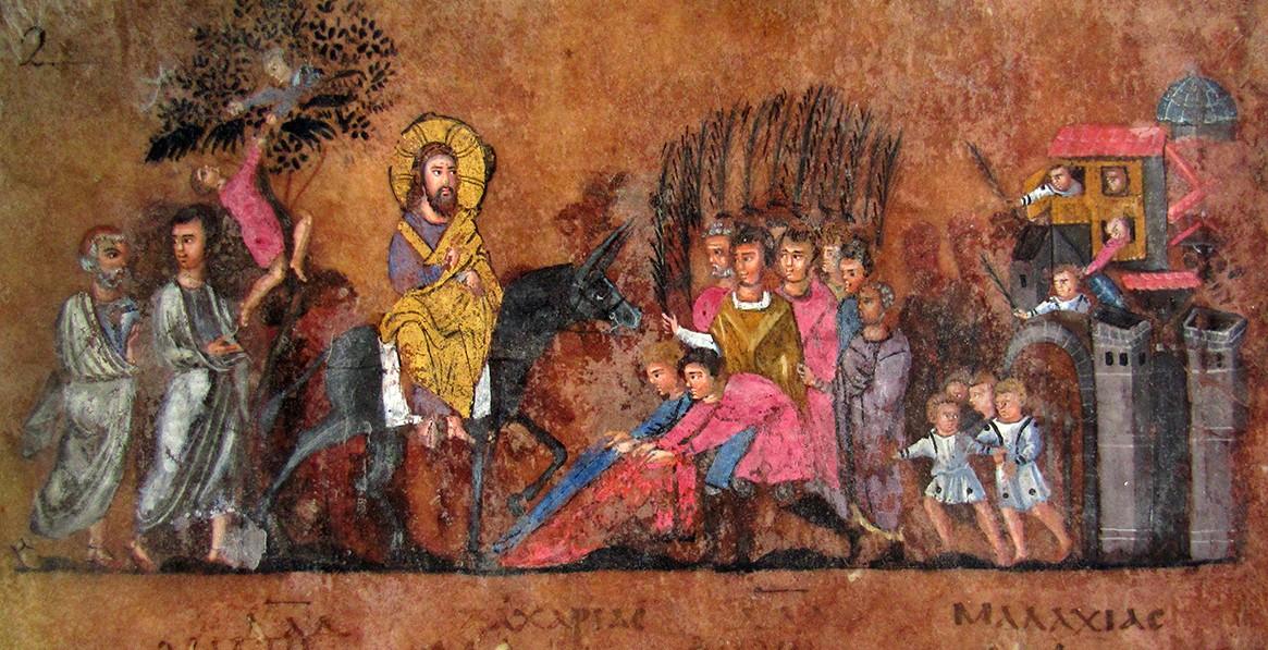 Прообразовательное значение Входа Господня в Иерусалим на молодом осле