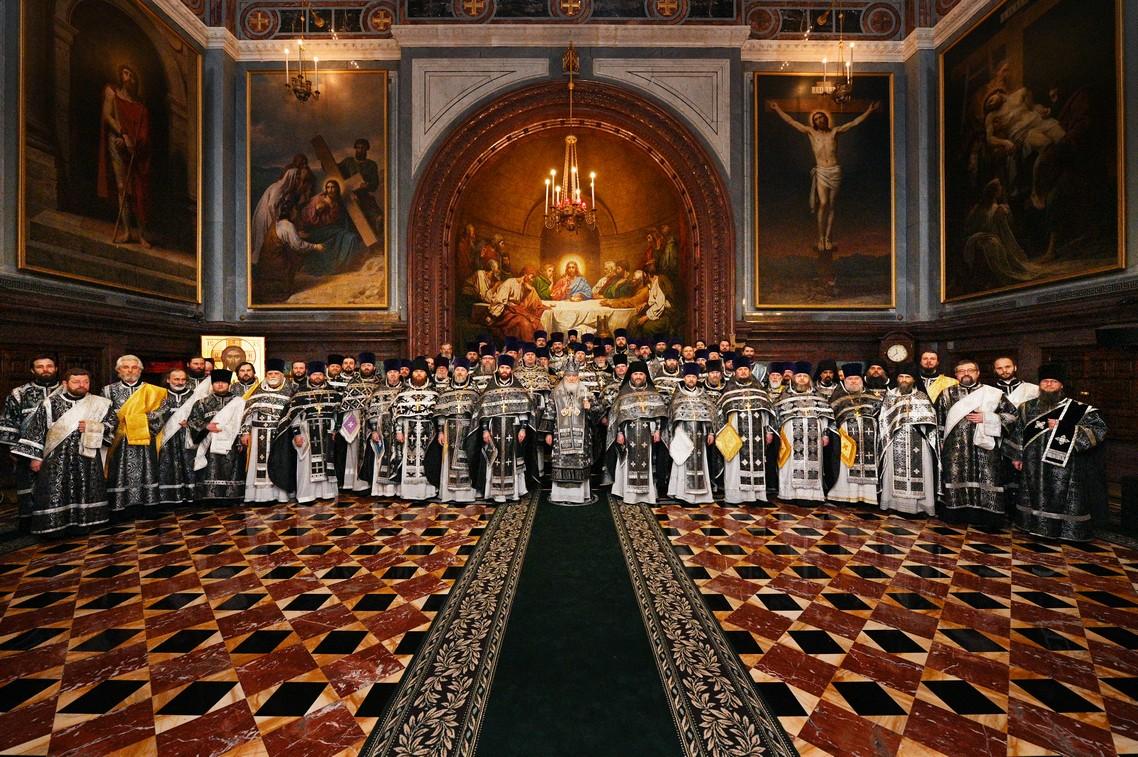 Святейший Патриарх Кирилл удостоил троих преподавателей Академии богослужебно-иерархических наград