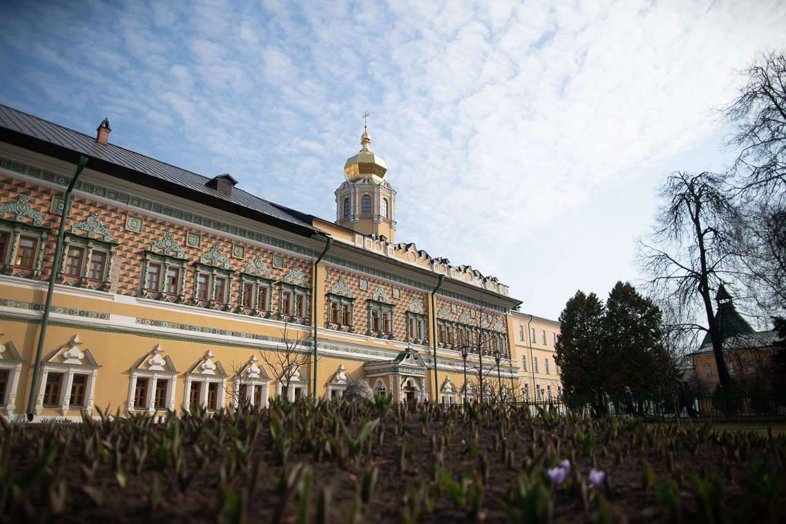 В Московской духовной академии встретили праздник Входа Господня в Иерусалим