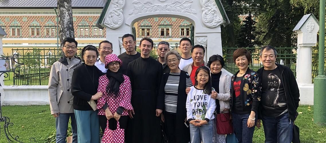 Делегация из Китая посетила Московскую духовную академию